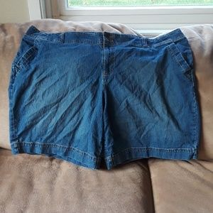 Faded Glory Jean Shorts (Stretch)